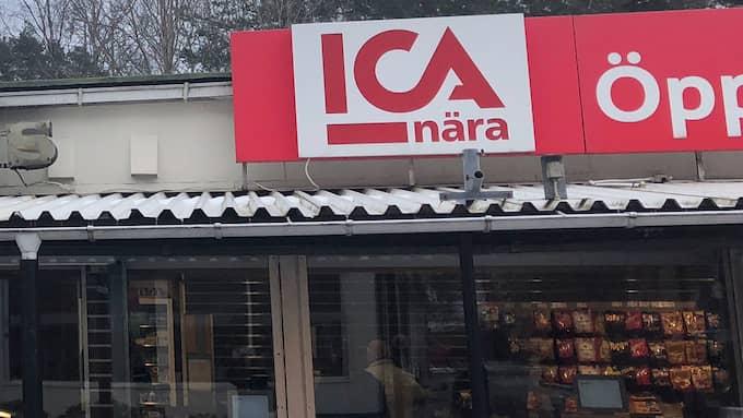 Ovrells Ica-butik i Kortedala. Mikael Ovrell upplever att han har en god dialog med både polis och vaktbolag angående de brott som har begåtts i butiken. Foto: Linda Bergh