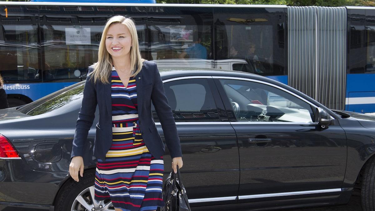 Ebba busch thor filma i bilen