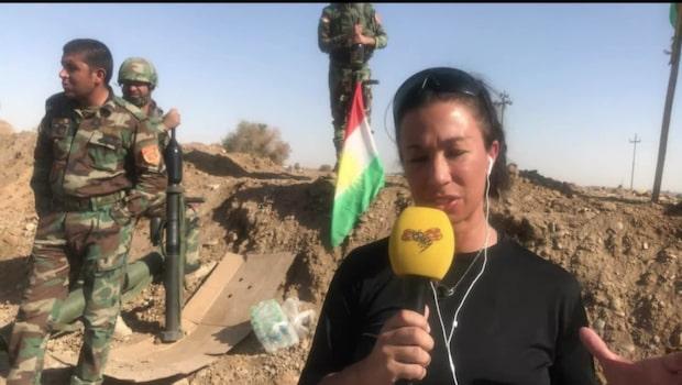 """Magda Gad i Irak: """"200 kurdiska soldater uppges ha dött"""""""