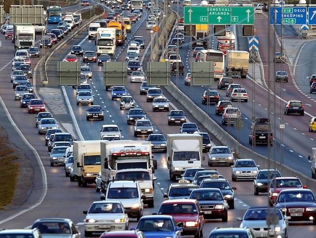 Även nya dieselbilar släpper ut mycket kväveoxid.