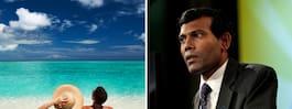 Maldivernas förre president fruktar att landet ska dränkas