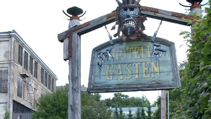 """""""Hotell Gasten"""" är det ordinarie spökhuset på Liseberg – den här gången ägde övergreppen rum i det provisoriska skräckhuset med zombies. Foto: SVEN-ERIK JOHANSSON"""