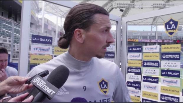 """Zlatan duckar nya VM-frågan: """"Vi får hålla det så"""""""