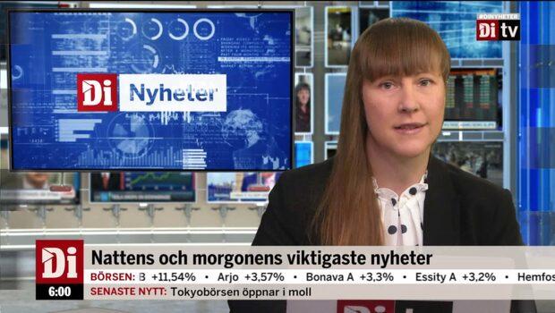 Di Nyheter 06.00 18 juni - SKF nära sälja verksamhet för linjära drivsystem