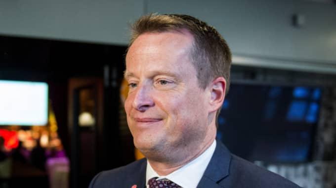 Inrikesminister Anders Ygeman är den minister som ingjuter mest förtroende hos svenska folket, enligt Novus mätning. Foto: Marcus Ericsson/TT