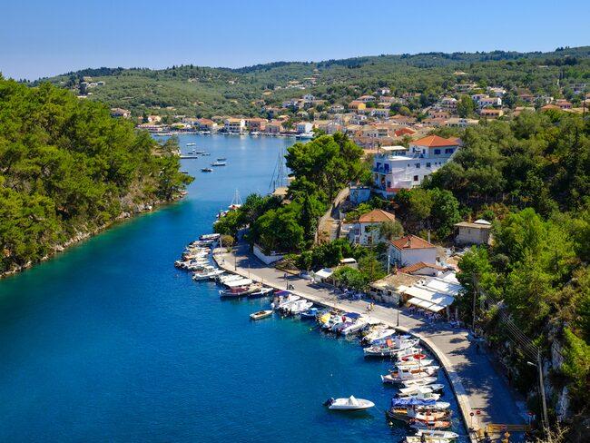Paxos, Grekland, är det perfekta valet för stenbocken.
