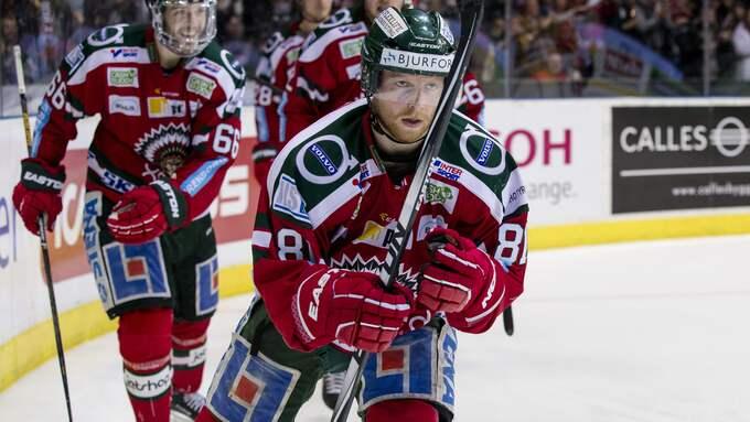 Lasch återvänder nu till Frölunda. Foto: MICHAEL ERICHSEN / BILDBYRÅN