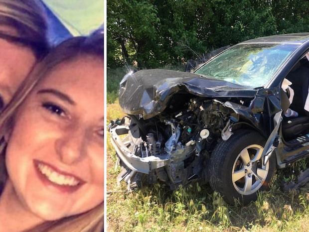Danielles sista ord till sin mamma – efter olyckan