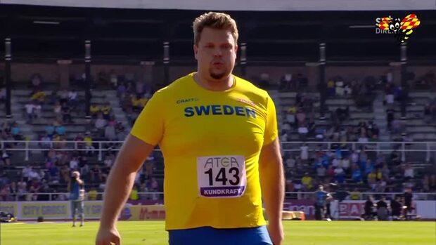 Daniel Ståhl övertygade i Finnkampen