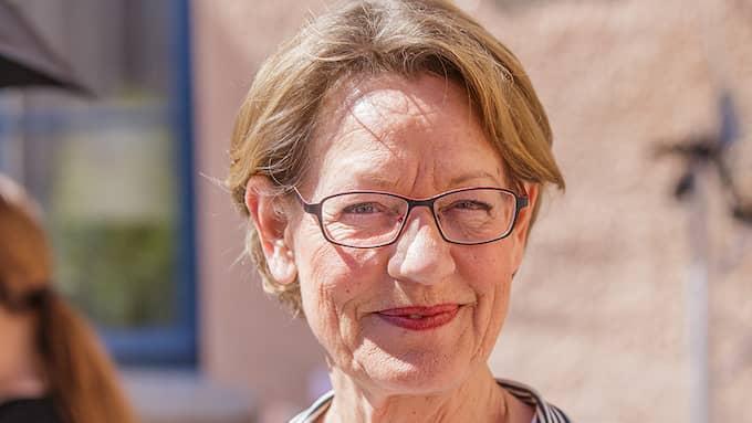 Gudrun Schyman,partiledare (Fi). Foto: GEJO FOTO, SWEDEN