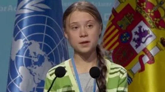 Greta Thunberg är utsedd till årets person av Time