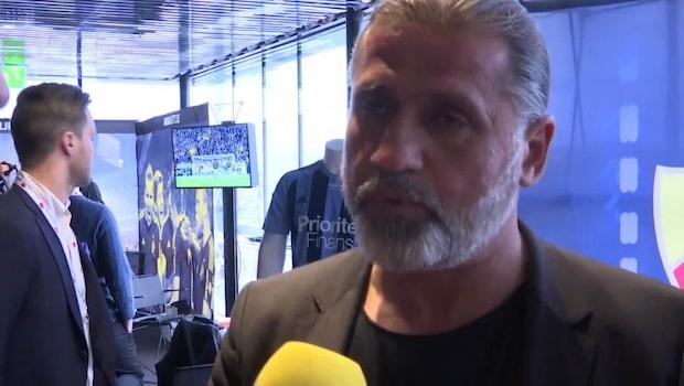 """Özcan Melkemichel: """"Som bäst är vi jäkligt aggressiva"""""""