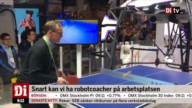 "Cervenka: ""Människor mot Robotar, 1-0"""