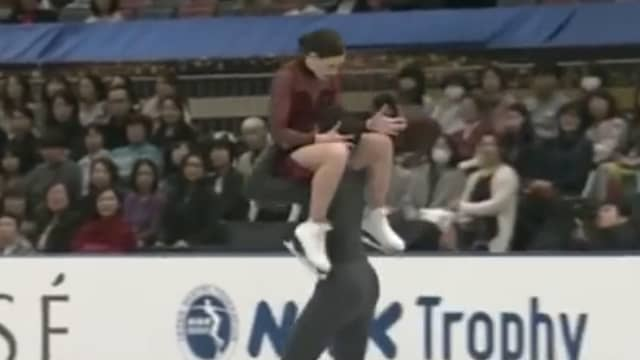 Den omtalade positionen som fick duon att ändra sitt nummer. Foto: Skärmdump från The Toronto Stars Youtubekanal