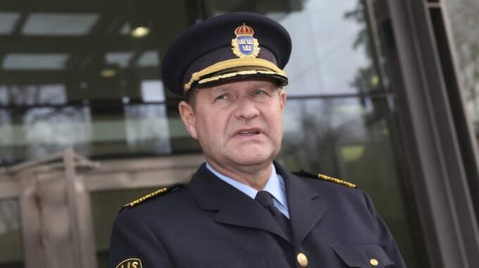 Rikspolischefen Dan Eliasson. Foto: Robert Eklund / STELLA PICTURES