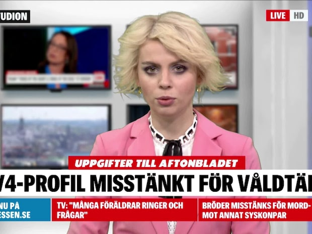 TV4-profil gripen misstänkt för grov våldtäkt