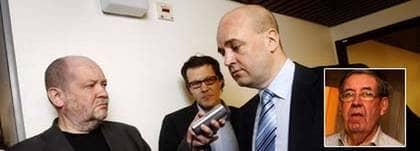 """""""PAPPA SKA BEHANDLAS SOM ALLA ANDRA"""". Fredrik Reinfeldt svarar på Expressens frågor om sin pappa Bruno Reinfeldts åtal för rattfylleri. Foto: Cornelia Nordström"""