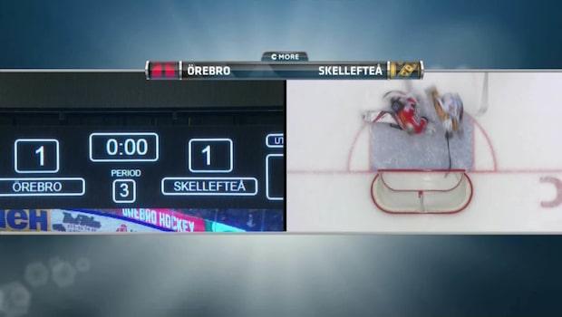 Höjdpunkter: Örebro – Skellefteå 1–2 SD