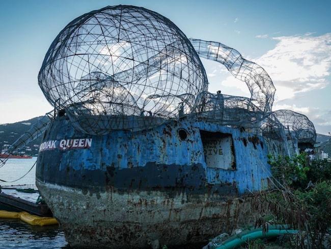 Efter kriget tjänstgjorde fartyget som fiskebåt. Nu ligger båten vid Brittiska Jungfruöarna i Karibien.