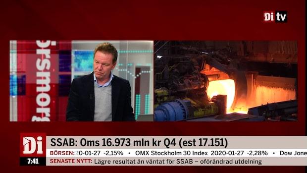 Ulf Petersson: SSAB:s rapport klart sämre än väntat