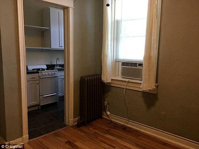 ...är på endast 18 kvadratmeter och har delat kök och badrum!