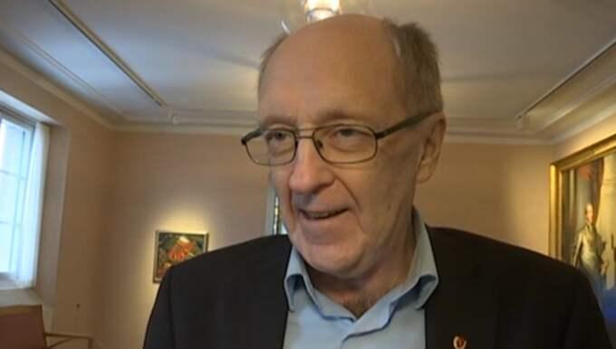 Expressens politiske kommentator K-G Bergström. Foto: Expressen TV