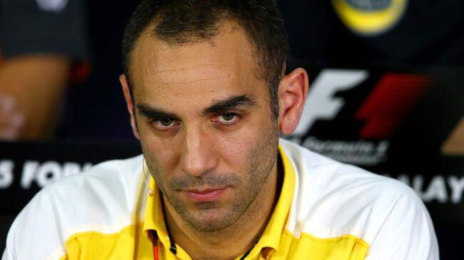 Renaults F1-chef Cyril Abiteboul.