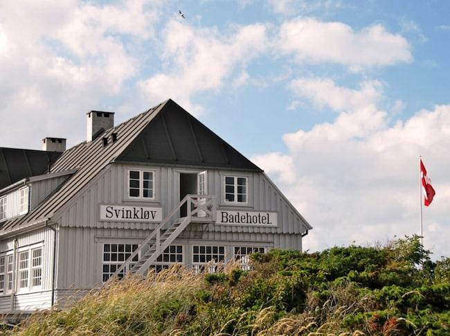 På Svinkløv Badehotel är känslan av hur det var förr påtaglig.