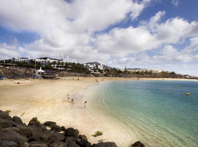 Finast och mest central är Playa Dorada.