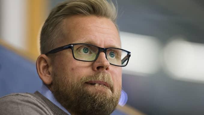 Assisterande sportchefen Johan Davidsson. Foto: STEFAN PERSSON / BILDBYRÅN
