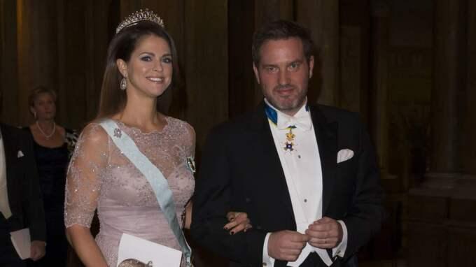 Prinsessan Madeleine och Chris O'Neill. Foto: David Sica