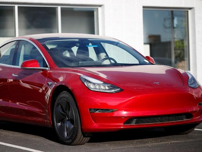 Teslas budgetalternativ Model 3.