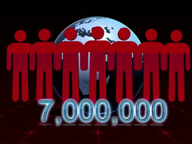 Sju miljoner människor dör varje år av luftföroreningar