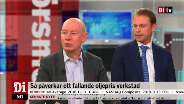 """Söderfjell: """"En korrelation mellan OMXS30 och oljepriset"""""""