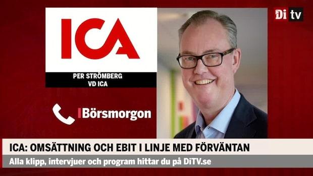 """Per Strömberg vd Ica: """"Välrustade för framtiden"""""""