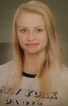 19-åriga Tova Moberg hittades död i maj 2017. Foto: Privat