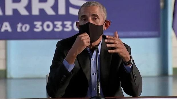 """Obama: """"Man vill splittra människor utifrån ras och religion"""""""