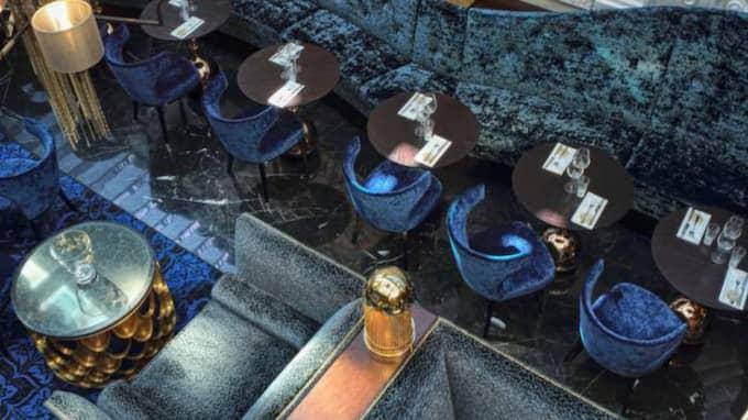 TILLSAMMANS MED PRISAD DESIGNBYRÅ. Designen har koncernchefen Samuel Samuelsson kommit fram till med hjälp av designbyrån Stylt trampoli som har fått många priser. Foto: Erik Nissen