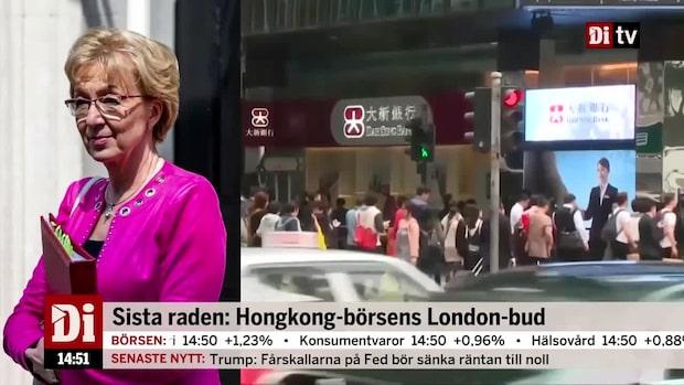 Hongkongbörsens bud på Londonbörsen: 355 miljarder kronor