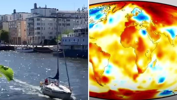 Klimatlarmet: 2020 kan bli ett rekordvarmt år