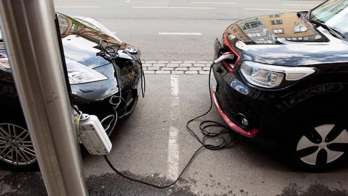 Även återvinningsindustrin visar intresse i att bättre ta hans om resterna av batterierna, menar Mats-Ola Larsson. Foto: ANNA-KARIN NILSSON