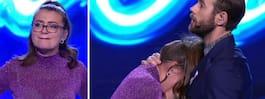 Erika bröt ihop på scenen – Gina: