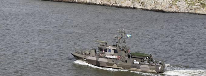 Försvarsmakten misstänker att svenska farvatten har kränkts av vad som kan vara en ubåt och är nu på plats i området för att undersöka uppgifterna. Foto: Jan Wiridén