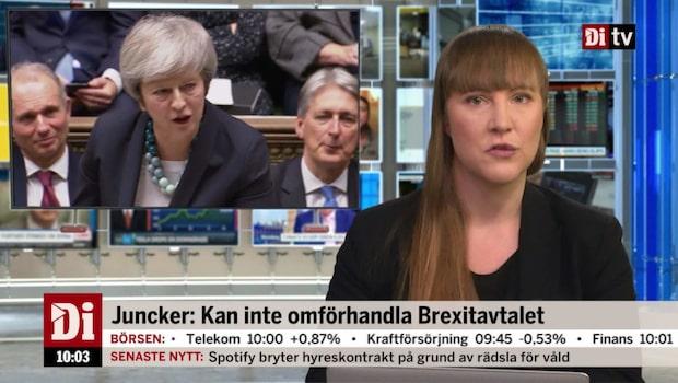Di Nyheter 10.00 11 december - Juncker: Kan inte omförhandla Brexitavtalet