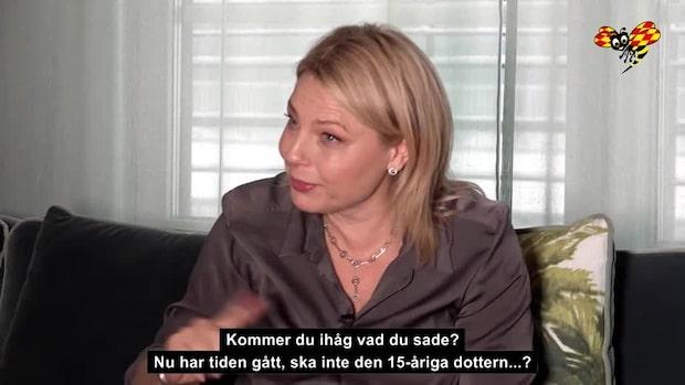 """Helena Bergström om Molly Nutleys filmdebut: """"Tårarna sprutade"""""""