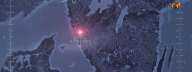 Misstänkt skottlossning i Göteborg - maskerade personer flydde på moped