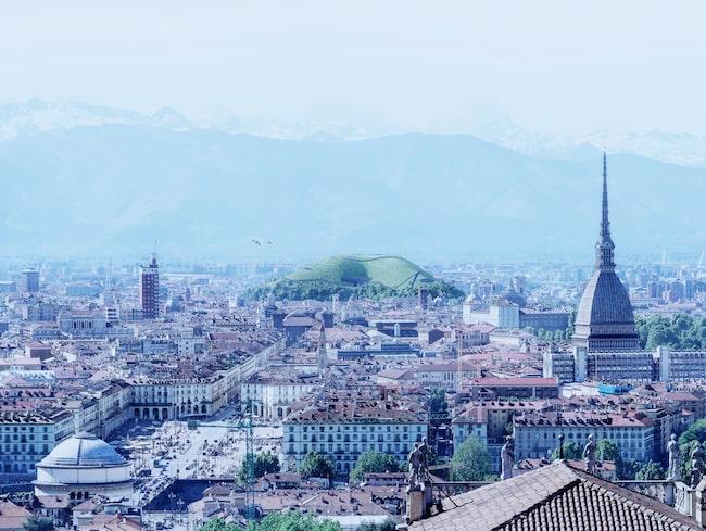 """Landskapsarkitekten Angelo Renna förslår ett """"grönt landmärke"""" i staden för att rena luften."""