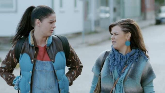 Ida Hallquist spelade mot Mia Skäringer. Foto: TV4