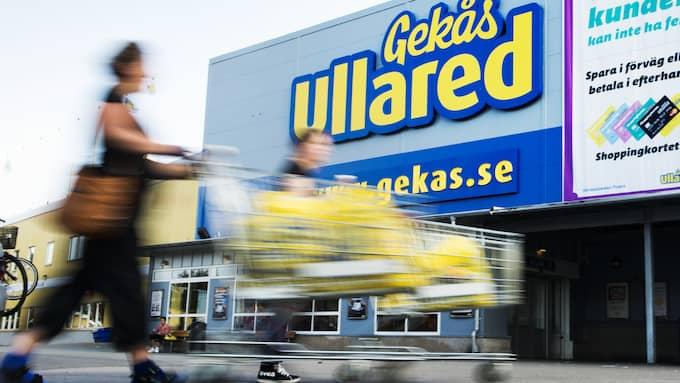 Gekås Ullared varnar – efter ny blufftävling. Foto: ROBIN ARON / GT-EXPRESSEN