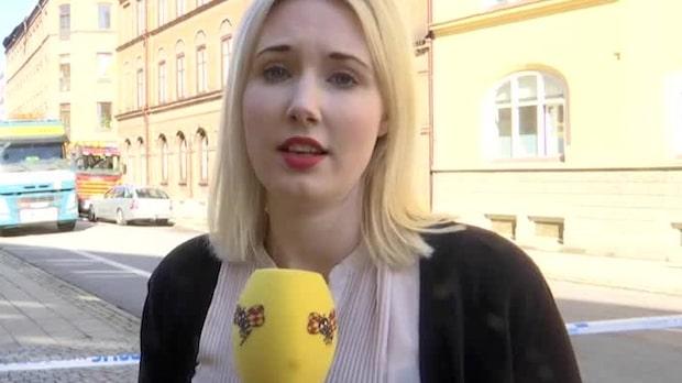 """Storbrand i Malmö: """"Rök i stora delar av staden"""""""